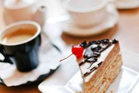 The Watermill Bar - Cake With Tea or Coffee For Two  - Save 45%