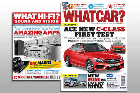 Haymarket Media Group - 13 Issue Subscription to What Car or What Hi-Fi Magazine - Save 47%