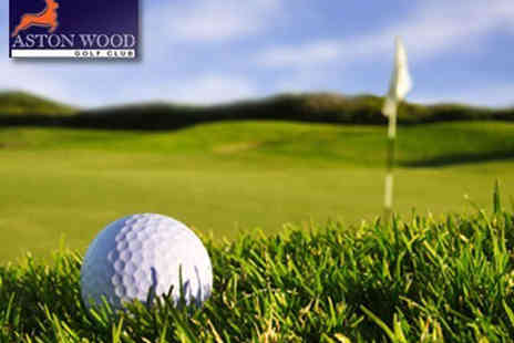 Aston Wood Golf Club - 18 Holes of Golf for Two  - Save 53%