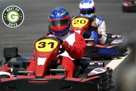 Tockwith Kart School - 30 Laps of Karting - Save 50%