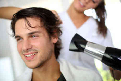 The Barber Shop - 3 men's cut and style packages with relaxing head massages - Save 50%