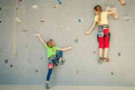 City Bloc - kids weekend boulder climbing package - Save 58%