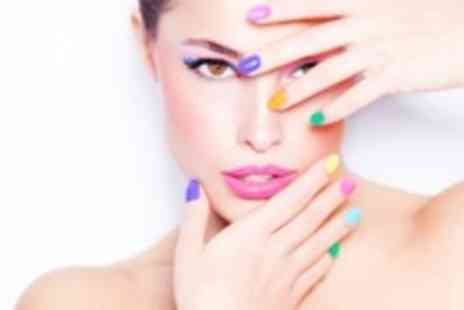 Bellissa Nails and Beauty - Shellac or NSI professional acrylic nails, with a manicure