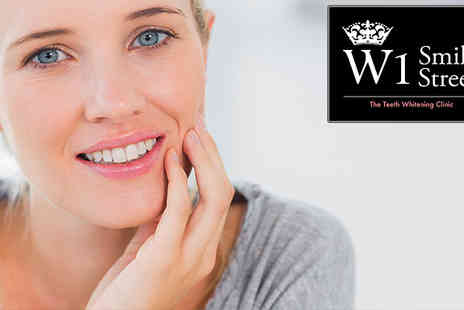 w1 smile street - One Hour Laser Teeth Whitening Session - Save 83%
