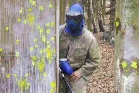 Scotch Corner Paintball Village - Paintballing For Five  - Save 87%
