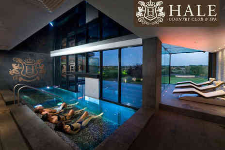 Hale Country Club - Luxury Spa Day Including Rasul Thermal Mud Treatment Back Neck and Shoulder Massage Prosecco Two Course Lunch - Save 50%