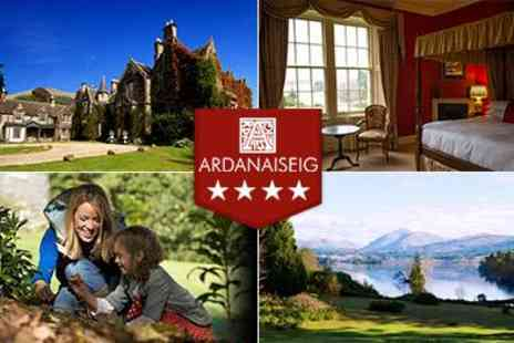 Ardanaiseig - One night stay with full Scottish Breakfast - Save 50%