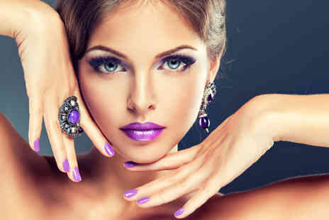 Talking Heads - Professional Gelish manicure or pedicure - Save 50%
