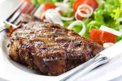 Thistle Marble Arch - Steak Meal With Champagne Cocktail - Save 53%