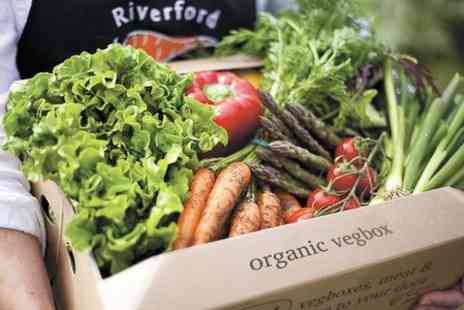 Riverford Organic -  Three Vegetable Boxes  - Save 53%