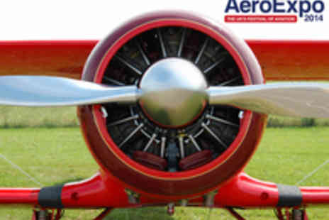AeroExpo - Two Tickets for The AeroExpo  - Save 54%
