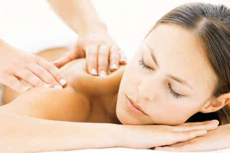 Alternatively Better - 30 Minute Aromatherapy Facial and 30 Minute Back, Neck, and Shoulder Massage - Save 52%