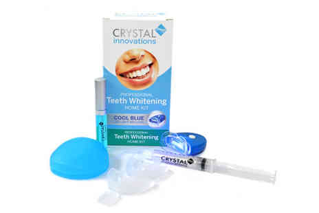 Crystal Innovations - Peroxide Free Teeth Whitening Kit - Save 85%