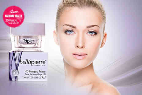 Bellapierre Cosmetics Europe - 30ml bottle of mineral rich foundation primer - Save 80%