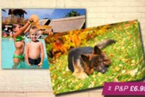 Your Image On Canvas -  A4 personalised canvas print - Save 87%