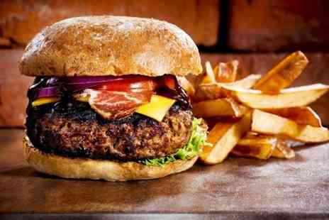 Around the World Bar - Burger Pizza or Salad With Drink  - Save 58%