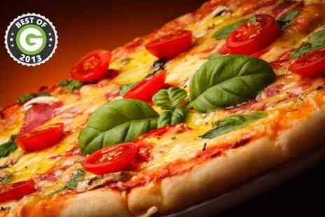 Da Mimmos - Pizza Lunch With Ice Cream For Two - Save 45%