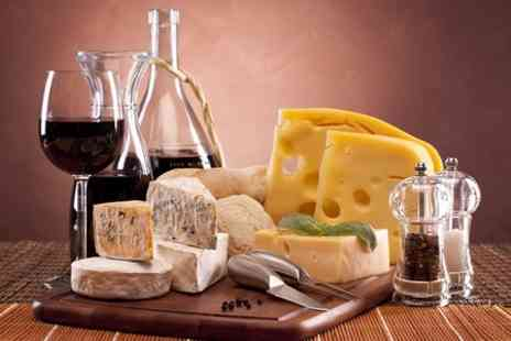 23 Grosvenor Gardens - Wine and Cheese Platter For Two - Save 54%
