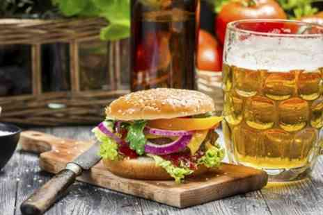 The Ivory Rooms - Gourmet Burger Plus Pint of Becks Vier  - Save 54%