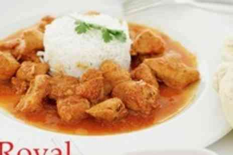 The Royal Saffron - Indian Meal For Four - Save 69%