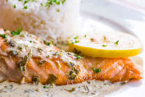 One Beaufort - Fish Dish and Glass of Prosecco for Two  - Save 53%