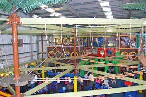 Mister Twisters - One  Soft Play Passes with High Ropes Access for One - Save 63%