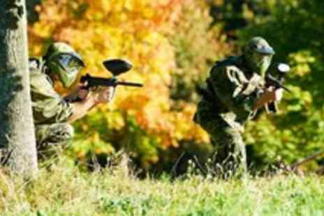 Ultimate Adrenalin - Paintball experience for 10 - Save 97%