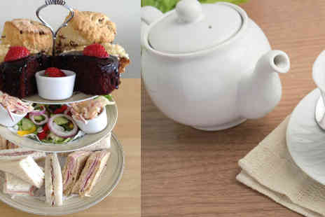 Tias Teaspoon Cafe - Half price Afternoon Tea for two  - Save 50%