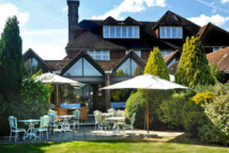 Fredricks Hotel - Berkshire Spa Break with Five Course Dining and Matched Wines
