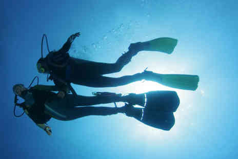 The London Scuba - PADI Open Water Diving pool and study referral course - Save 73%