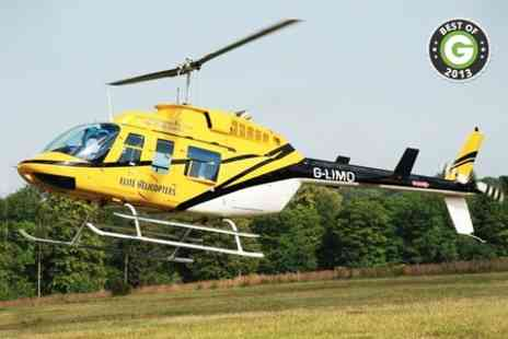 Elite Helicopters - 34 mile helicopter buzz flight for one - Save 52%