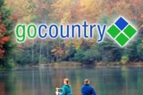 Go Country - Overnight Scottish Adventure Trip For Two With Canoe Instruction and Hire Plus Camping Equipment - Save 76%