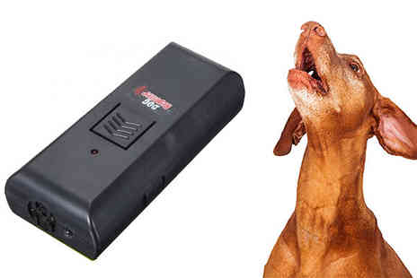 Something Great - Keep yourself protected and unfriendly dogs away with the Dog Barking Repeller  - Save 50%