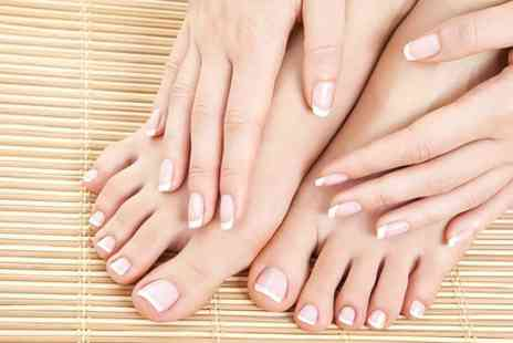 Hair of Connaught Hair and Beauty Salon - Shellac Manicure  - Save 50%