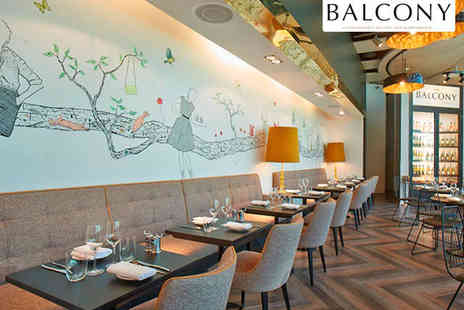 Searcys Balcony Brasserie - Brunch for Two People