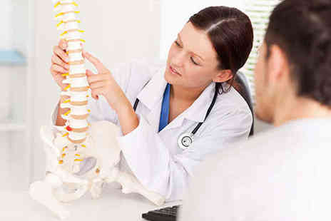 Glasgow Osteopaths - Spinal Analysis with Osteopath Treatment - Save 77%