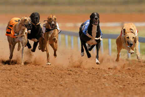 Sunderland Dogs - Saturday night at the dogs for 2 including race card tote bet food 2 drinks and nightclub - Save 28%