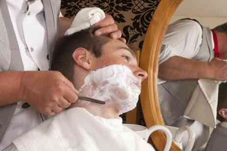 Jason Shankey Spires Belfast - Hot Towel Shave  - Save 52%