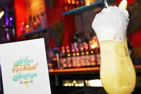 Lolas Cocktail Lounge - Four cocktails to share between two or four peopl  - Save 50%