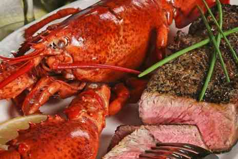 Sakura - Lobster and Steak Meal For Two  - Save 49%