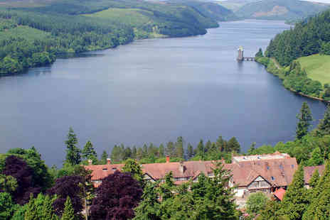 Lake Vyrnwy Hotel and Spa - Four Star Welsh Lakeside Hotel & Spa - Save 50%