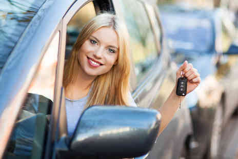 A Pass Driving School - 2 hour driving lesson  - Save 80%