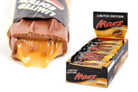 Advanced Global Productions - 28 Limited Edition 45g Mars Caramel Bars  - Save 60%