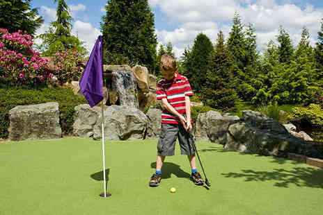 Sandbanks Crazy Golf - One Rounds of Family Crazy Golf for Two  - Save 49%