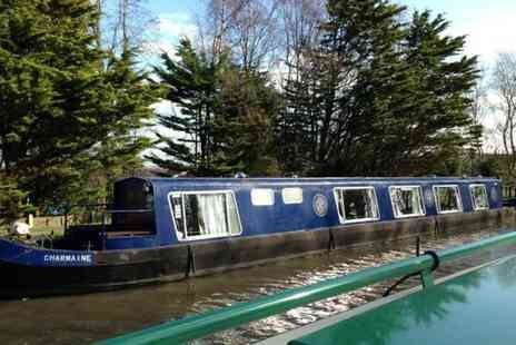 Burscough Boat Hire - Canal ride and afternoon tea 2 people - Save 54%