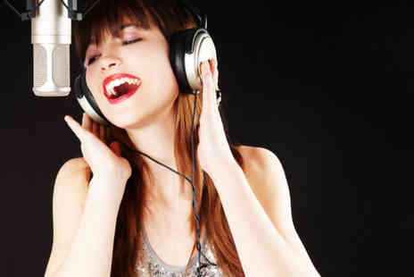 Hop Pole Studio - One hour pop music recording studio experience for up to 15 people - Save 87%