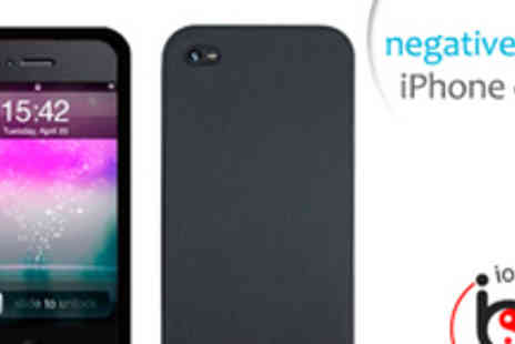 Ionic Balance - Negative ion iPhone 4/4S silicone protective case - Save 50%