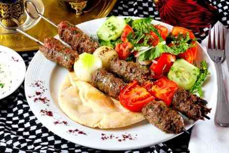 Eastern Chillout - Three Course Turkish Meal With Tea For Two - Save 50%