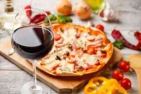 Da Gennaro - Pasta or pizza main plus a glass of wine for 2 - Save 61%