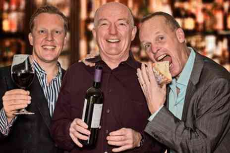 Three Wine Men -  Wine Tasting Event with Celebrity Critics - Save 40%